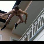 Flying Naked Man