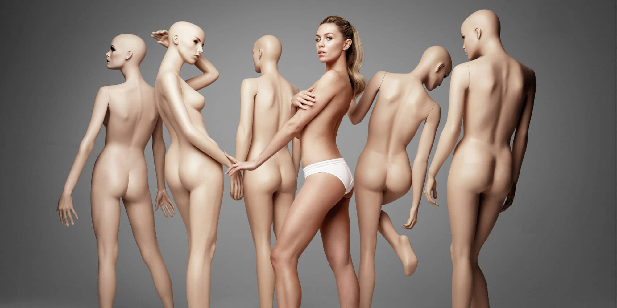 mannequin nude porn