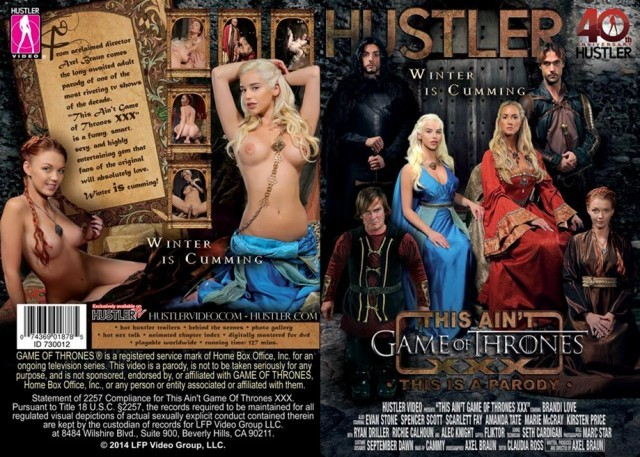 game of thrones porn parody