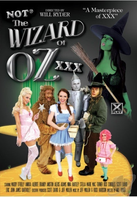 wizard of oz porn parody
