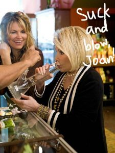 Joan Rivers Takes A Hit From A Bong
