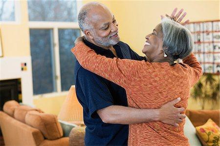 elder couple sex dancing
