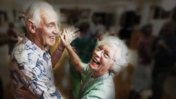 elderly sex dancing