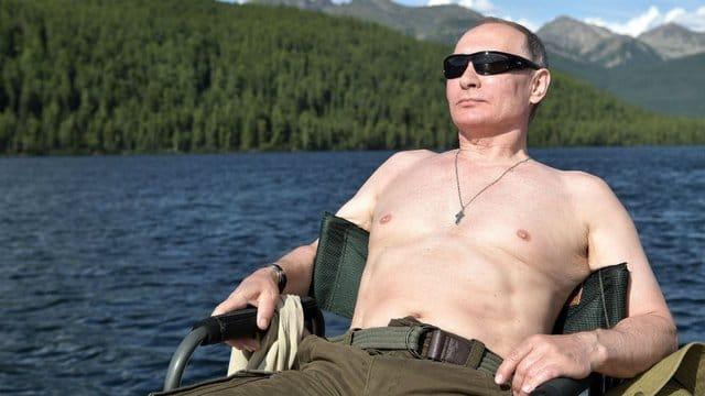 Putin Nakedness