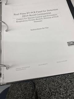 cdc COVID testing protocol